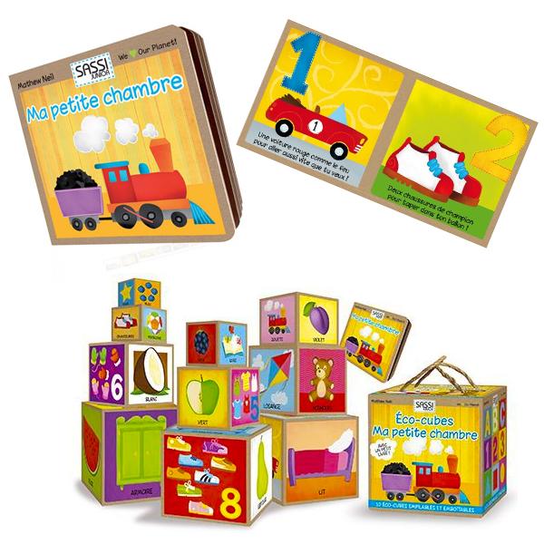 Eco-cubes + Livre Ma Petite Chambre