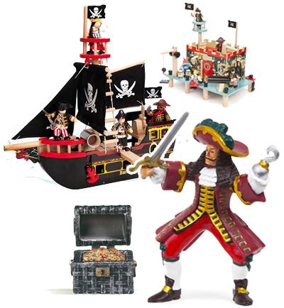 Bateaux et Pirates