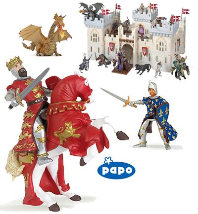 Châteaux et chevaliers PAPO
