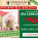 Jeu Concours Haba