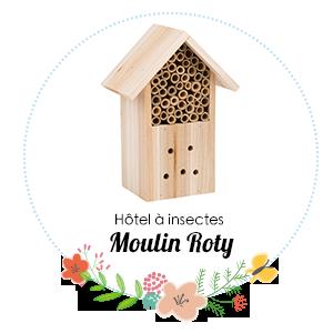 Hôtel à insectes Moulin Roty