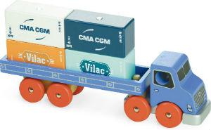 Camion porte-container Vilac