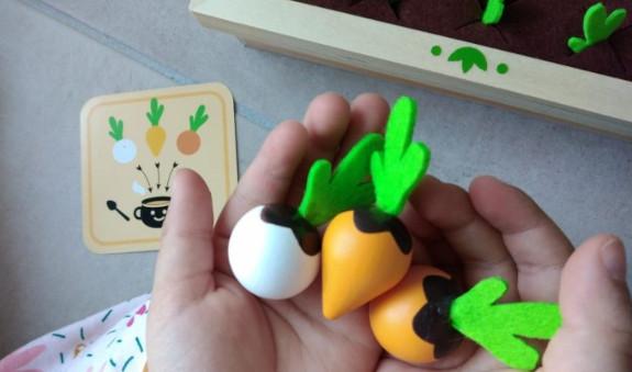 légumes du jeu de mémoire mémotager