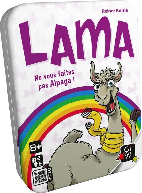 Jeu de cartes Lama Gigamic