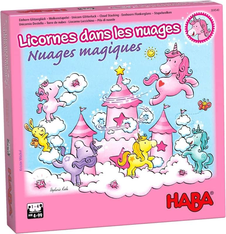 Jeu de coopération Licornes dans Les Nuages : Nuages Magiques Haba