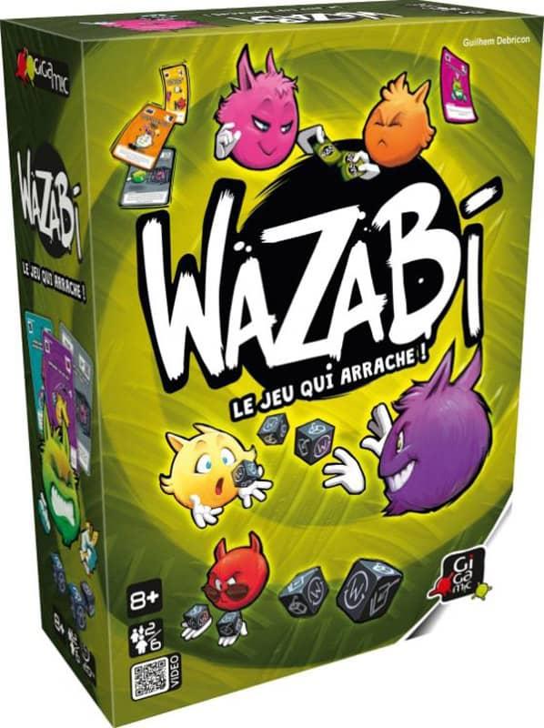 Jeu de société Wazabi Gigamic