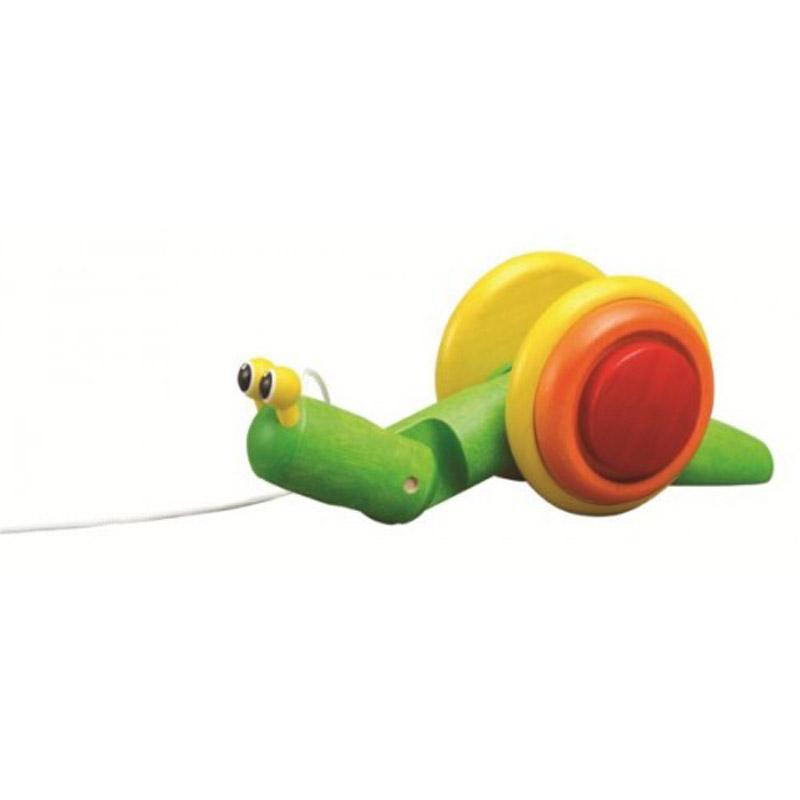 Jouet à tirer escargot Plan Toys